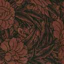 End Paper - Maroon and Black